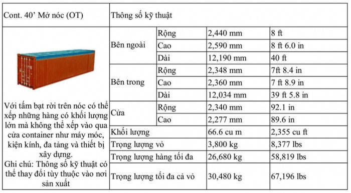 kích-thuoc-container-mo-noc-40-feet-ot-truong-thinh