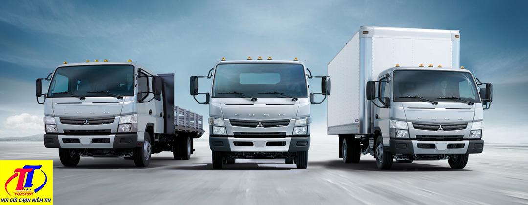 Đội xe vận chuyển đầy đủ tải trọng, hiện đại nhất hiện nay