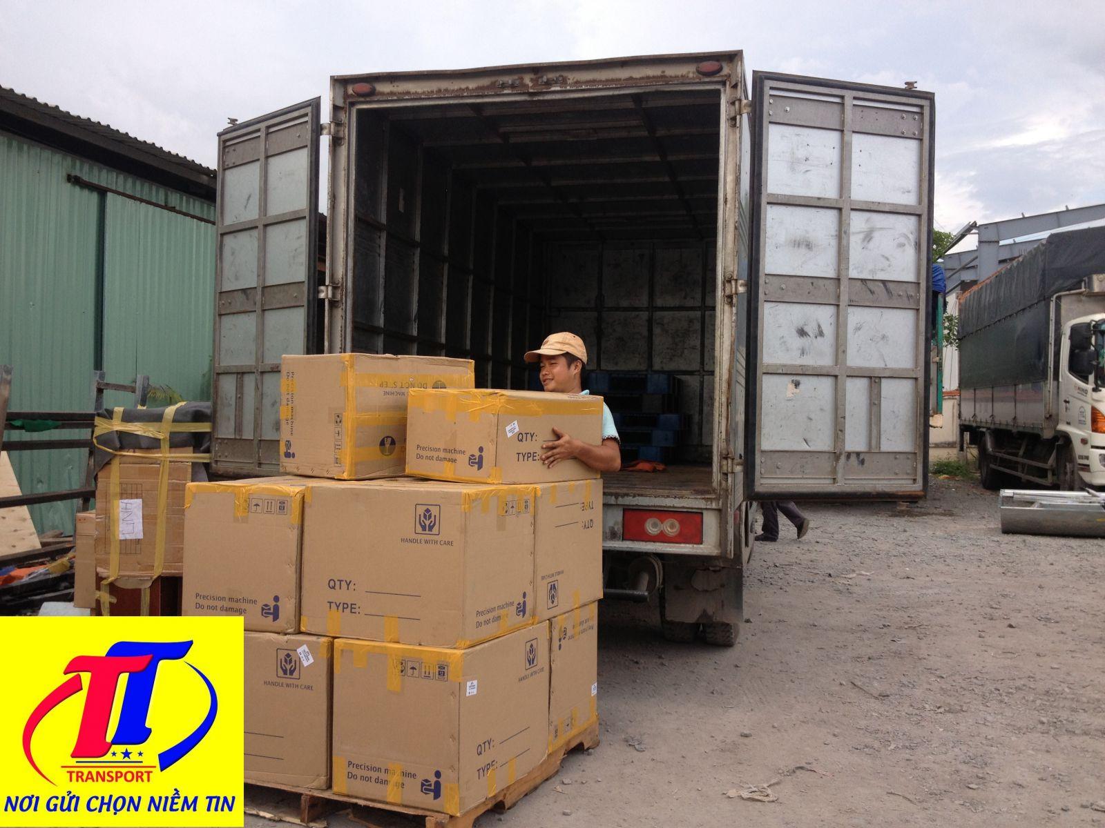 Trường Thịnh nhận vận chuyển hàng hoá các loại