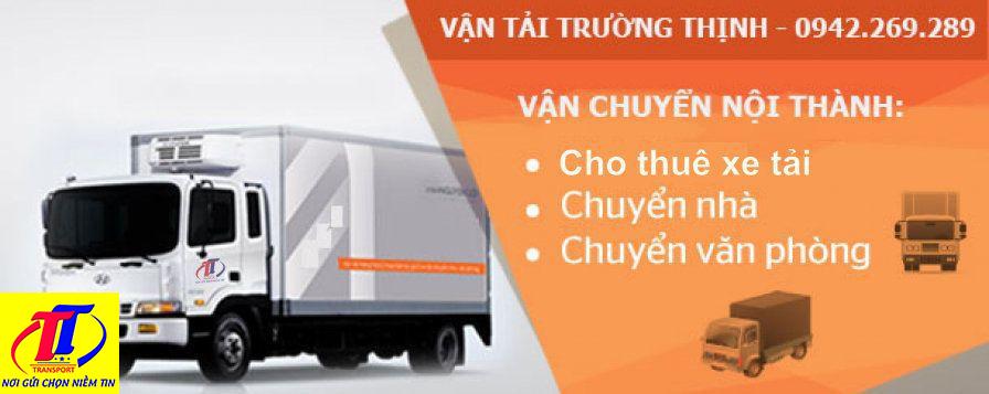 Vận tải Trường Thịnh nhận vận chuyển hàng cả nước